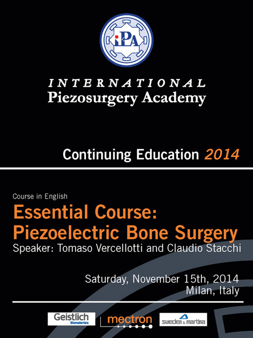 Cover Page of the flyer: