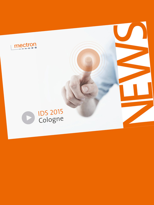 Cover Page of our IDS 2015 News flyer
