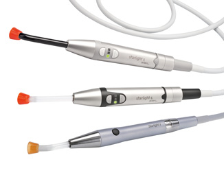 mectron built-in LED curing light product range