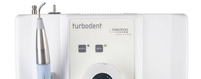 mectron airpolishing device turbodent