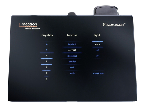 touch screen of PIEZOSURGERY® touch