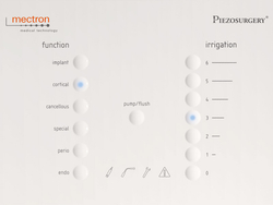 PIEZOSURGERY® white display