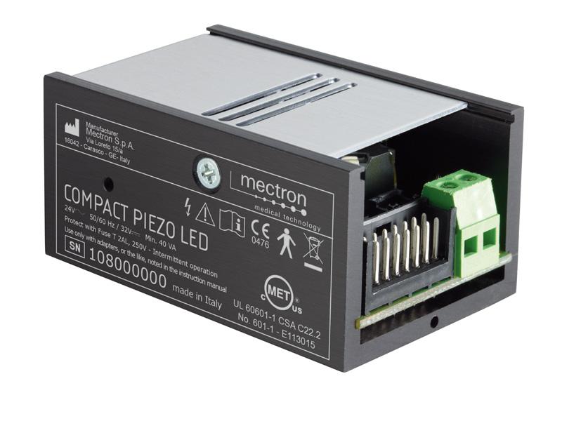 compact piezo LED electronic module